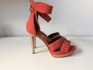 Miss Sixty Strapped High-Heeled Sandals multicolored