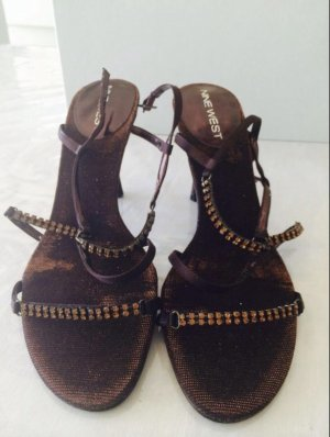 Sandaletten mit absatz von Nine west
