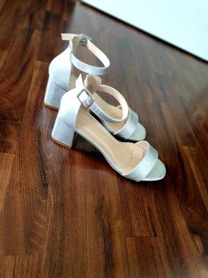 Glamorous High Heel Sandal silver-colored