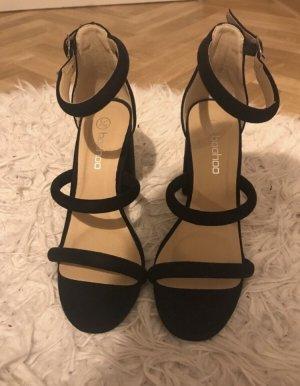 Boohoo High Heel Sandal black