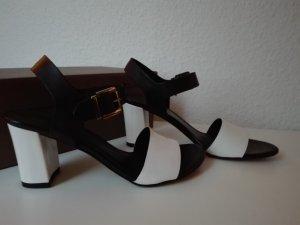 Tamaris High Heel Sandal white-black