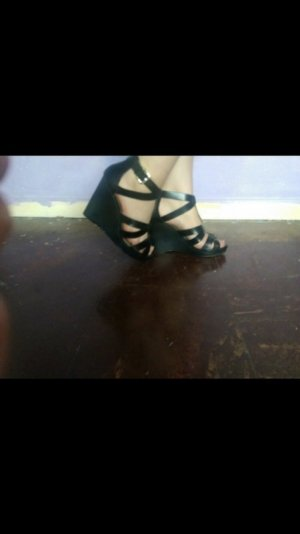 H&M High-Heeled Sandals multicolored