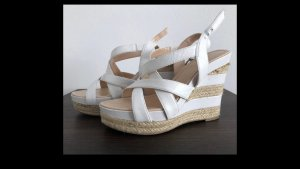 Guess Wedge Sandals white-beige