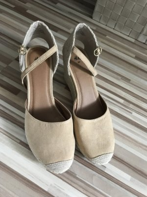 H&M Wedge Sandals nude