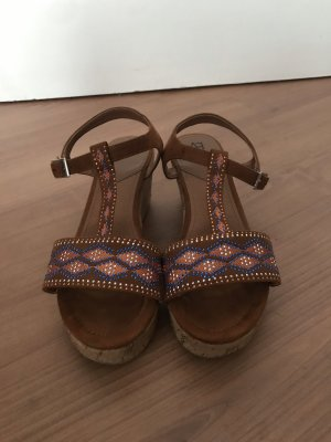 Anna Field Wedge Sandals multicolored