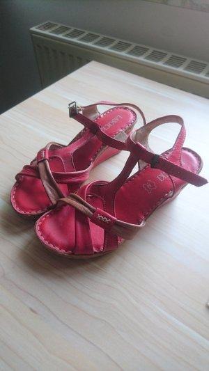Lasocki High-Heeled Sandals brown-red