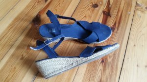 Wedge Sandals blue
