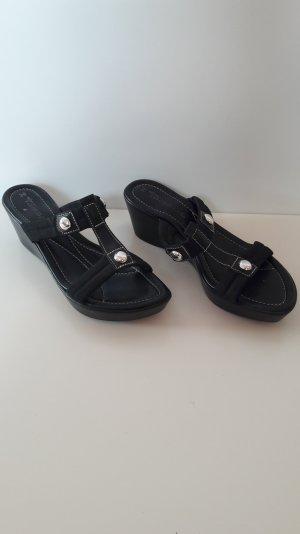 Sandaletten mit Keilabsatz, Größe 39, Tamaris