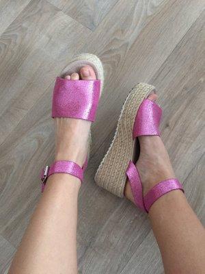 Asos Platform Sandals multicolored