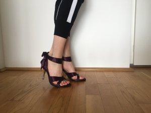 Sandaletten mit Schleife Gr. 38