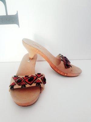 sandaletten pantoletten von miu miu gr. 37,5