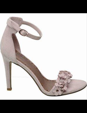 Graceland Sandales à talons hauts et lanière or rose-rosé