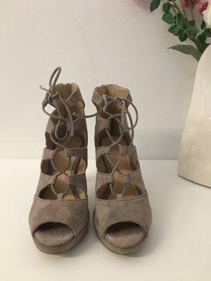 Sandaletten Sandalen beige