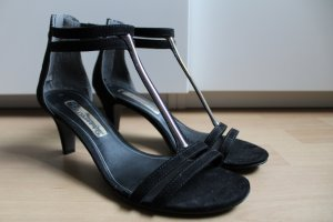 Tamaris High-Heeled Sandals black