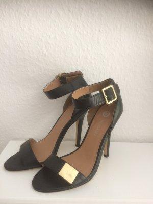 Sandaletten schwarz High Heels