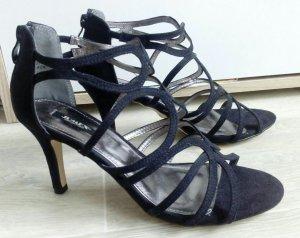 Sandaletten schwarz neu