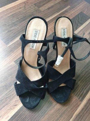 Sandaletten Steve Madden schwarz Gr. 40 *Neu*