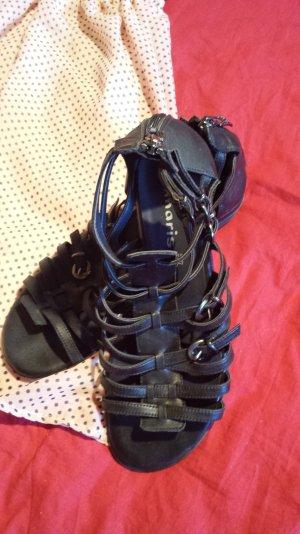 Sandaletten Tamaris schwarz