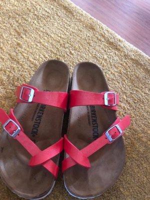 Birkenstock Comfort Sandals salmon
