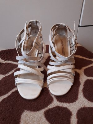 Buffalo London High Heel Sandal white leather