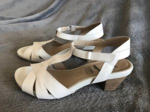 Sandaletten von Caprice neu weiss echtleder