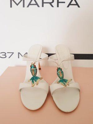 sandaletten von celine gr. 39 Leder