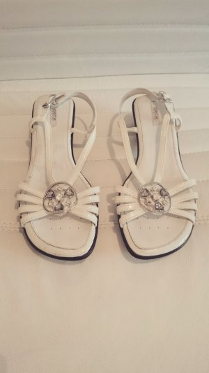 Geox High-Heeled Sandals white