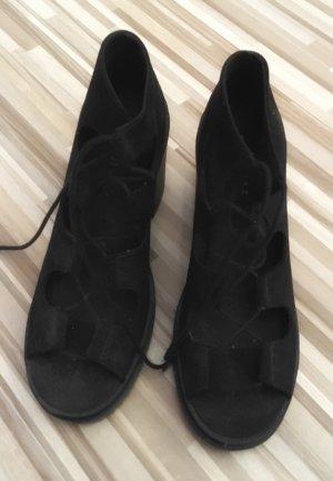 H&M Divided Platform High-Heeled Sandal black