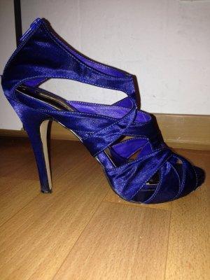 La Strada High-Heeled Sandals dark blue