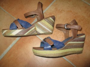 Marco Tozzi Wedge Sandals multicolored lurex