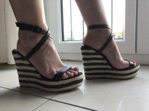 Sandaletten von Sisley dunkelbraun Gr.36