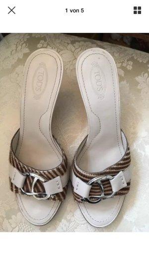 Sandaletten von TOD'S Echtleder 37