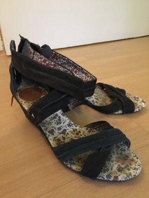 Tommy Hilfiger Strapped High-Heeled Sandals dark blue