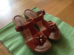 SandalettenPantoletten von GABOR, Gr. 38, Weite G, NEU! Ungetragen