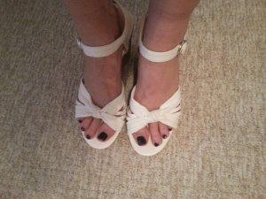 Sandallen weiß Gr. 41 von Graceland