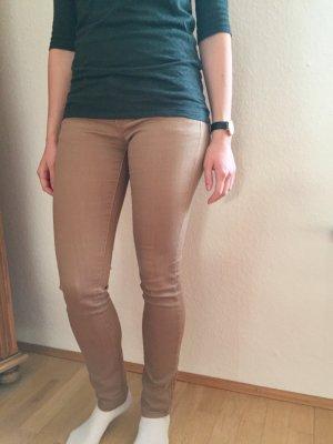 Sandbraune beige Jeans Gr. 36