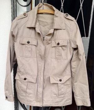 Xanaka Safari Jacket oatmeal cotton
