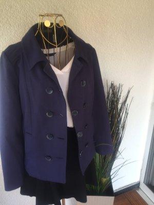 Sandra Pabst Blazer Jersey blau violett Gr. 40