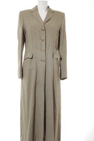 Sandra Pabst bodenlanger Mantel beige Casual-Look