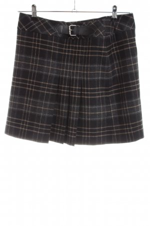 Sandra Pabst Plaid Skirt check pattern casual look