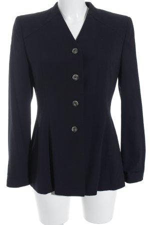 Sandra Pabst Tweed Blazer dark blue business style