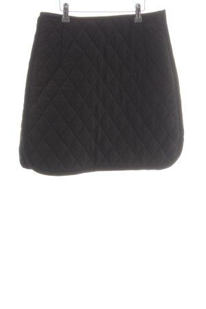 Sandro A-Linien Kleid schwarz Steppmuster Elegant