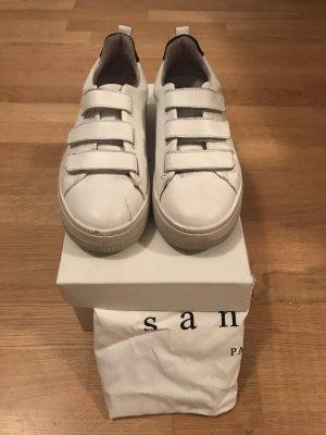 Sandro Paris Sneaker con strappi bianco-blu scuro