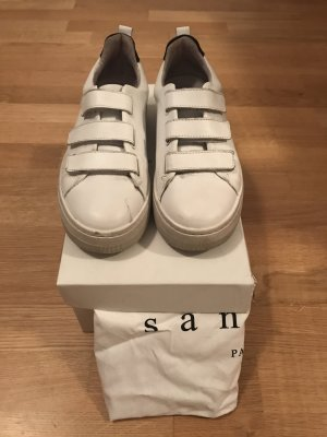 Sandro Paris Velcro Sneakers white-dark blue