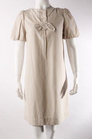 Sandro Babydoll-Kleid beige