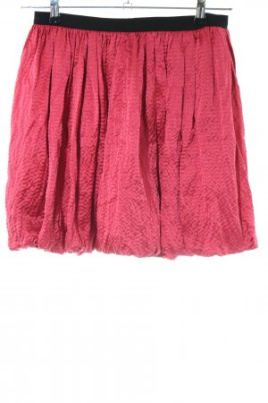 Sandro Balloon Skirt red elegant