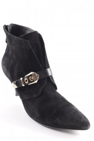 Sandro Booties schwarz Casual-Look
