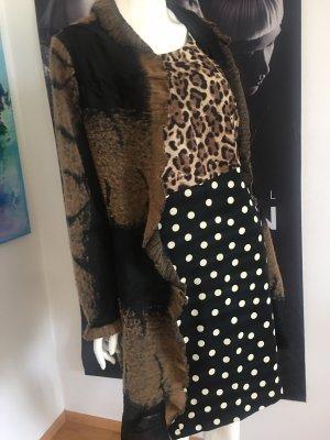 Sandro ferrone ital Designer Kleid animalprint 40/42  wie neu
