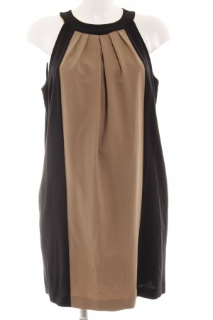 Sandro Ferrone Neckholderkleid schwarz-beige Elegant