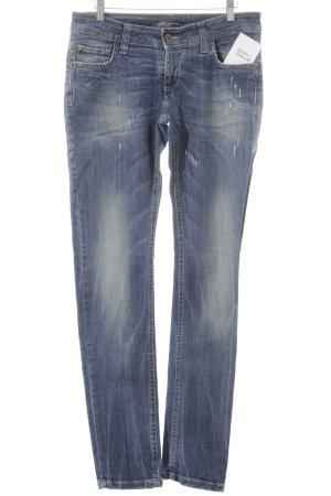 Sandro Ferrone Skinny Jeans kornblumenblau Casual-Look
